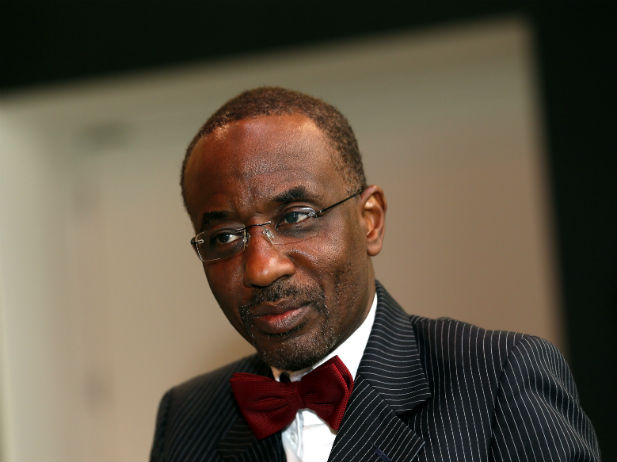 Nigeria's Central Bank governor Sanusi Lamido Sanusi attends an interview with Reuters at the World Islamic Economic Forum in London, October 30, 2013. (Stefan Wermuth/Courtesy Reuters)