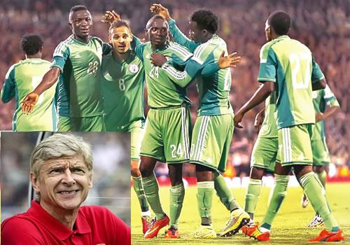 Brazil 2014: Wenger tips Eagles for 2nd round