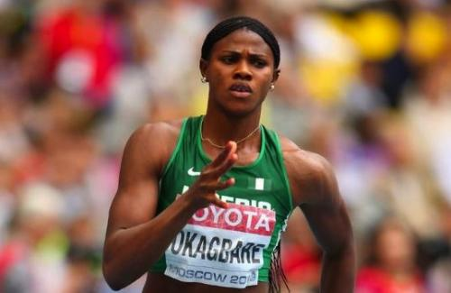 Okagbare sets the pace in Women 100m