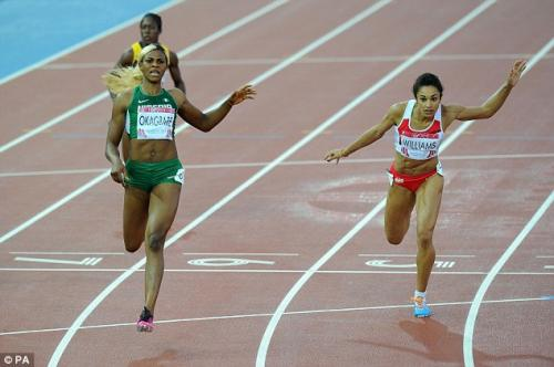 DOUBLE BLESSING!! 200M GOLD MEDAL FOR BLESSING OKAGBARE