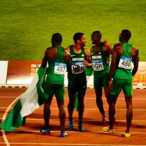 #TeamNigeria Sweep Gold Medals at African Championshis