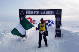 Inspirational - First Nigerian To Set Foot on North Pole
