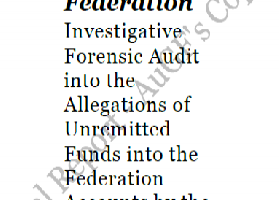 President Jonathan Releases Report Of Forensic Audit Of NNPC Accounts, [Report Attached]