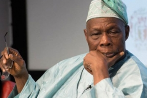 Late Ooni charged me to ensure Yoruba got its due in Nigeria - Obasanjo