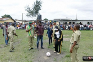 Joseph Yobo Foundation launches Football Academy in Prisons, to secure release many Inmates...