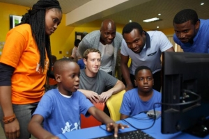 Facebook CEO goes to Nigeria to witness Africa's tech revolution
