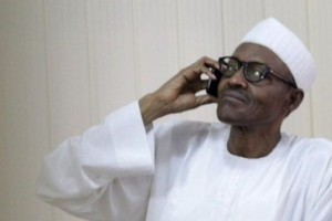 Buhari calls Kano Governor during prayer session, says he's feeling fine