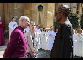 Archbishop of Canterbury says Buhari is testimony of God's healing power