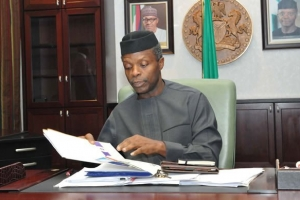 Osinbajo explains sharp drop in Nigeria's anti-corruption rating by Transparency