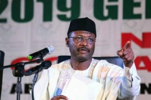 How INEC chairman responded to critics of 2019 elections