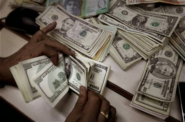 Nigeria's foreign reserve drops by $500million in the last one week