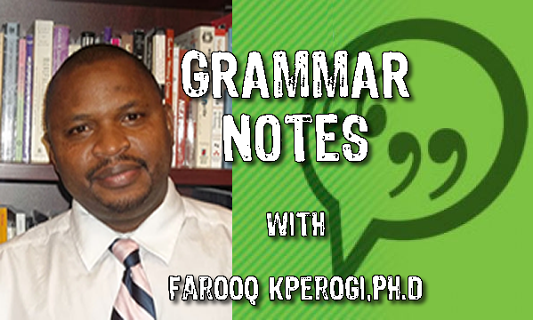 Q and A on the grammar, usage, politics, election and Nigerian English
