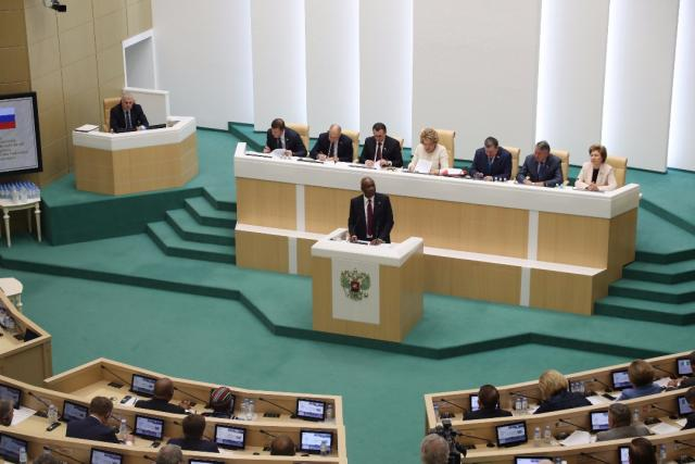10 things Saraki told Russian lawmakers about Nigeria
