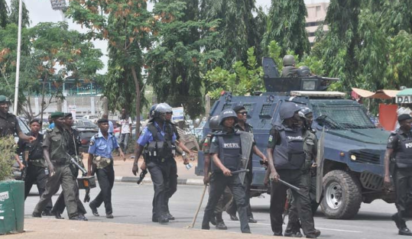 Police operatives protest in Borno, prevent students, teachers from classes