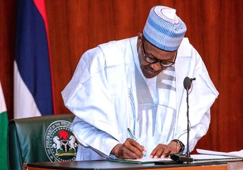 National Assembly rejects Buhari's Executive Order