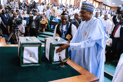 Buhari transmits budget for 2019 elections to Senate