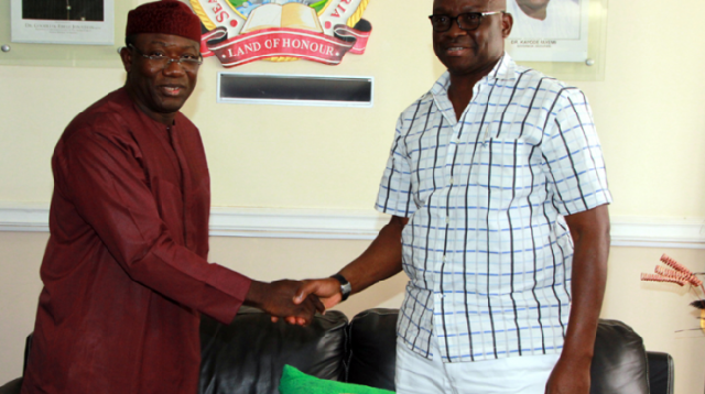 Fayose offers to meet EFCC for probe as Fayemi describes outgoing gov's move as decoy/