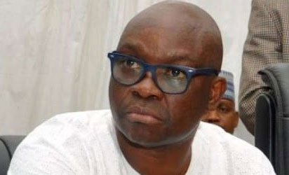 Fayose 'not afraid to face tomorrow' after EFCC asked security agencies to 'watch' outgoing governor