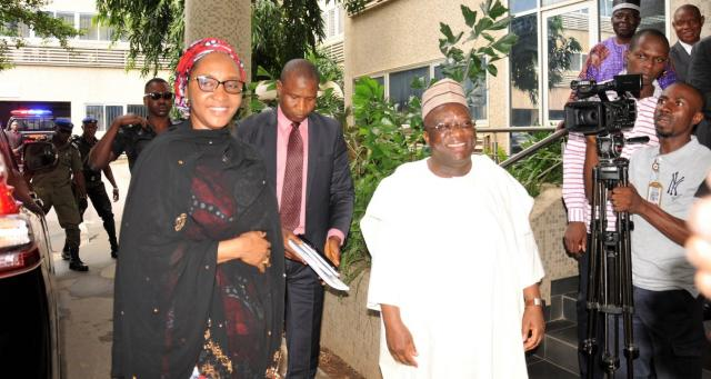Supervising Finance minister, Zainab assumes duty, says these are very challenging times for Nigeria