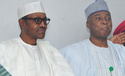 Saraki accuses Buhari of presiding over a divided Nigeria