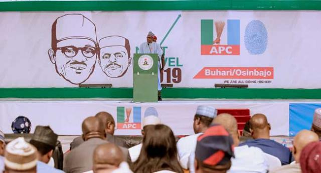 2019: Buhari commits to job creation, infrastructure, power, others in 'Next Level' campaign