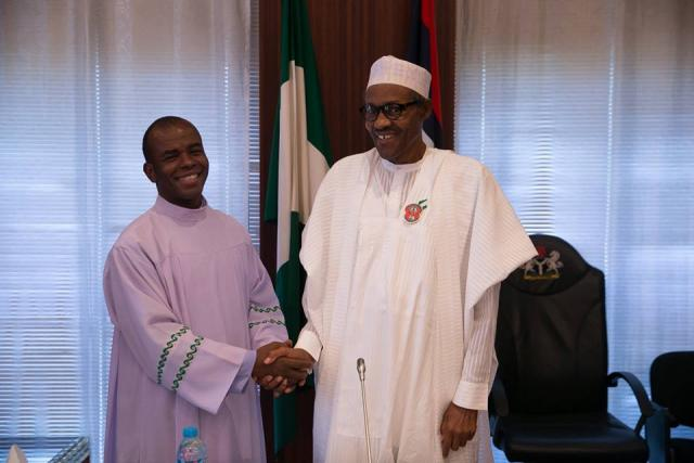 2019: You'll go nowhere if you remain ungrateful - Fr. Mbaka threatens Buhari