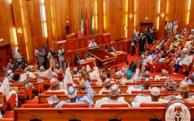 Uproar in Senate as lawmakers disagree over EFCC nominees, accuse Buhari of exclusion, marginalization