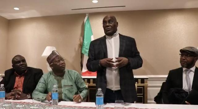 Buhari Campaign accuses Atiku of sneaking in and out of America, 'justifies' claim