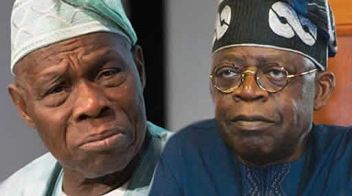 Tinubu speaks as Obasanjo says Buhari is sick in body, mind and soul