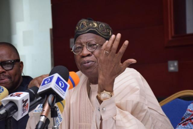 Buhari govt has sent corruption 'under the carpet' - Lai Mohammed