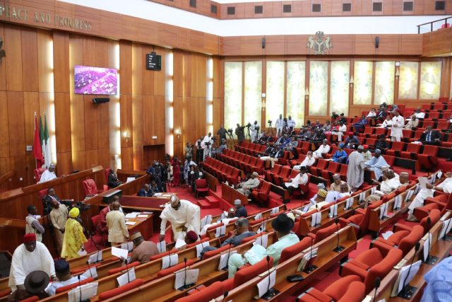 Senate passes re-drafted bills after Buhari declined assent
