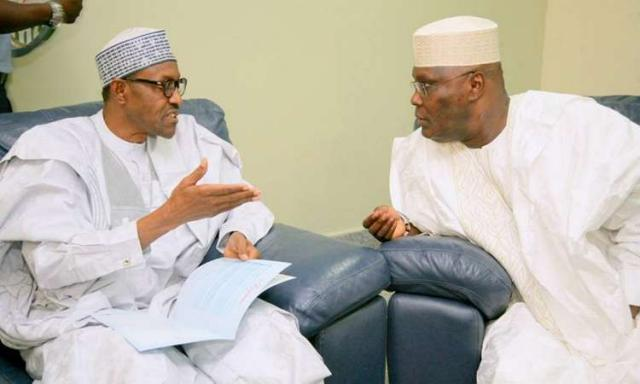Presidential election: Buhari claims to be more educationally qualified than Atiku