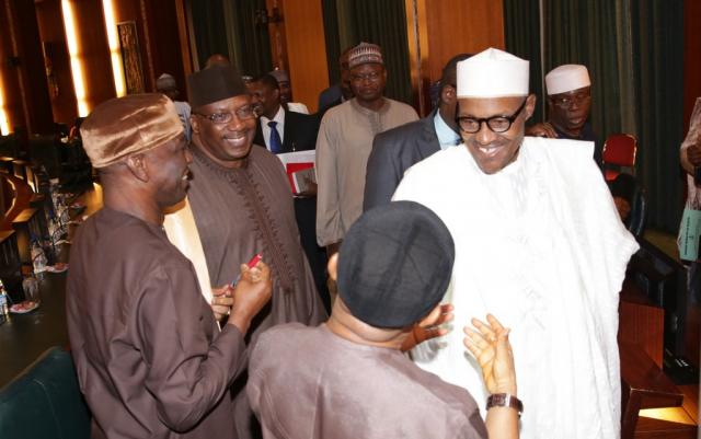 Buhari's ministers to remain in office until May 28