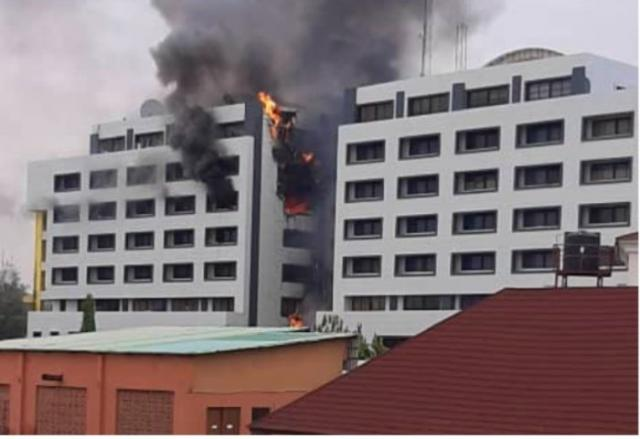 Fire at AGF's office didn't destroy any record, says Minister