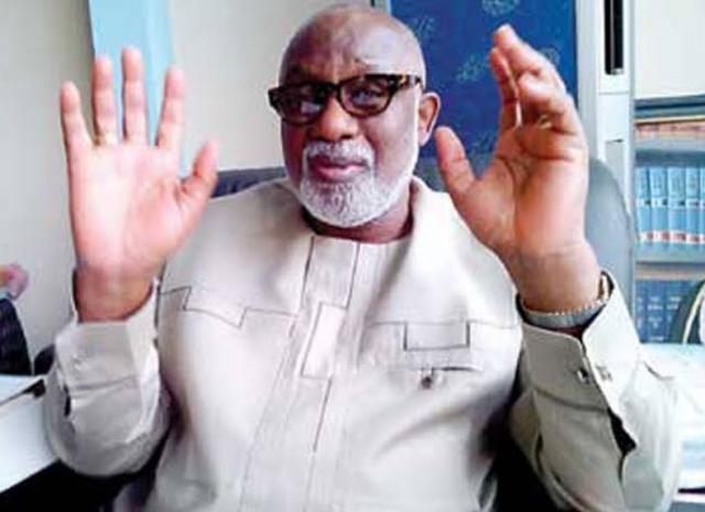 COVID-19: Akeredolu tests positive as Yahaya Bello claims virus 'forced' on Nigerians