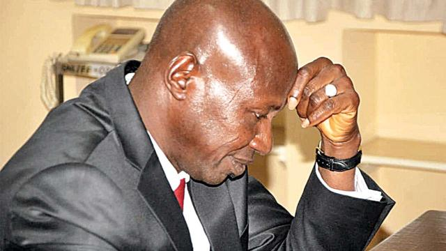 Magu 'suspended' as EFCC acting chairman