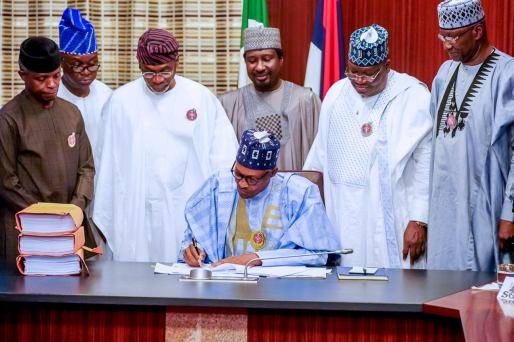 Buhari signs revised N10.8trn 2020 budget into law