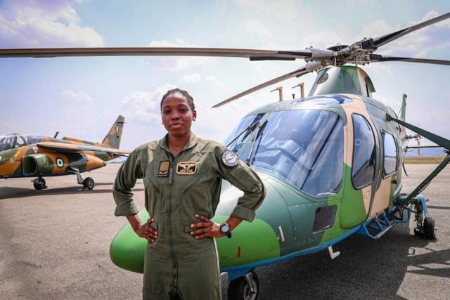 Nigeria's first female combat helicopter pilot dies  -- less than a year after feat