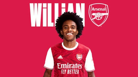 Done Deal: Arsenal confirm Willian signing from Chelsea
