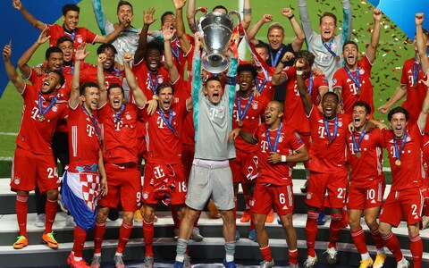 Kingsley Coman the hero as Bayern beat PSG to lift sixth Champions League title