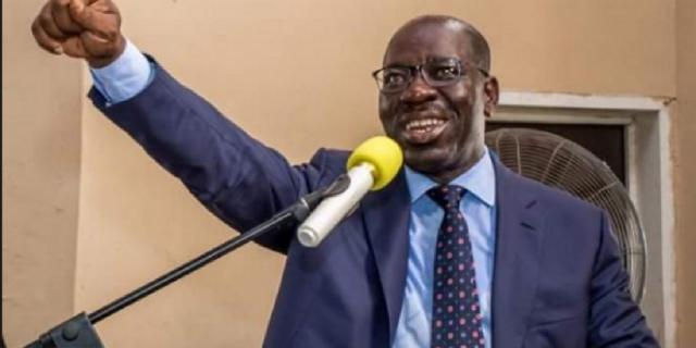 Obaseki re-elected as Edo gov as Buhari hails victory
