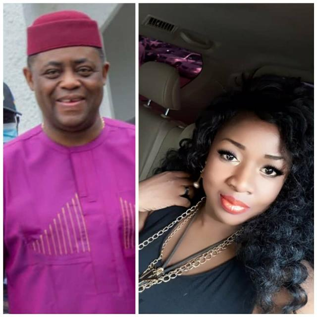 'He's never maltreated me' -- Fani-Kayode's third wife backs him amid domestic violence allegations