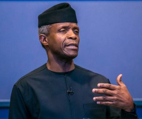 Osinbajo: There're obvious cracks Nigeria may break up if…