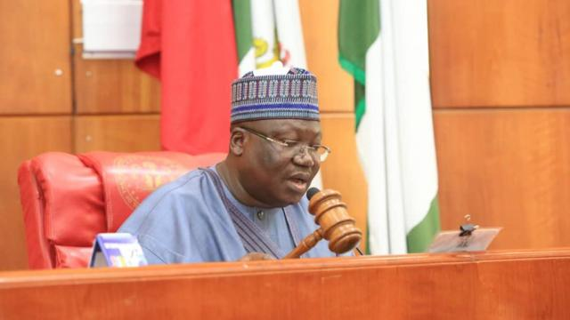 Anti-graft war: Only those in opposition will say Buhari's govt hasn't done well, says Lawan