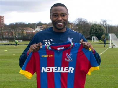 Crystal Palace sign Shola Ameobi