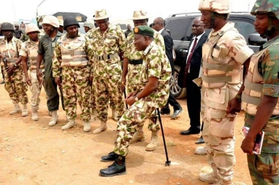 PRESIDENT JONATHAN VISITS MUBI AND BAGA, APPLAUDS VICTORIOUS NIGERIAN SOLDIERS