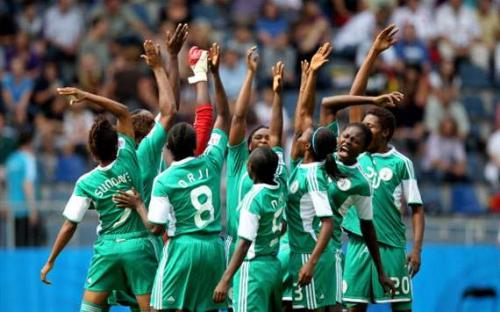 Jonathan Applauds Falconets, Says Team Can Become Great Force In Women's Soccer