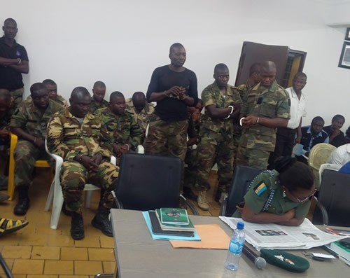 Twelve Nigerian soldiers fighting Boko Haram sentenced to death for mutiny