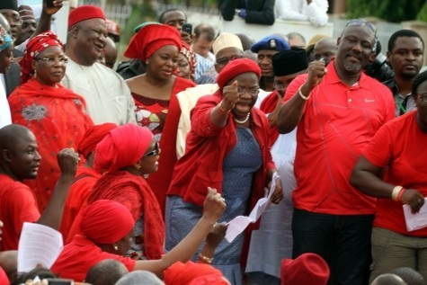 APC, PDP and BBOG Campaigners
