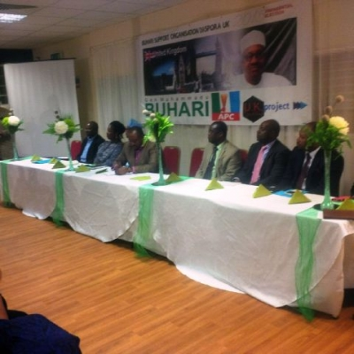 PRESS RELEASE: Nigerians in United Kingdom Endorse Buhari for President